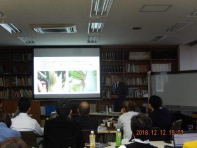 シンジェンタジャパン株式会社技術普及部様主催の技術交流会で「薬害と生育障害の判定について」講演させていただきました